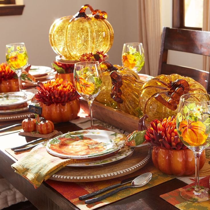 Pumpkin Patch Salad Plate Set | Pier 1 Imports