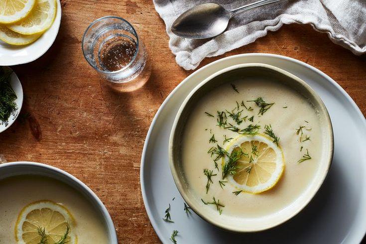 Greek Orzo & Lemon Soup with Egg —Avgolemono recipe on Food52