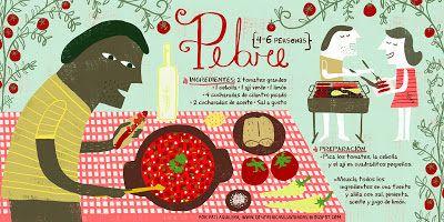 Cositas Ricas Ilustradas por Pati Aguilera: Pebre