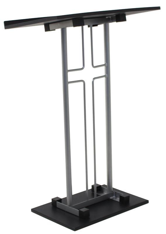 Church Furniture Store Aluminum Cross Podium
