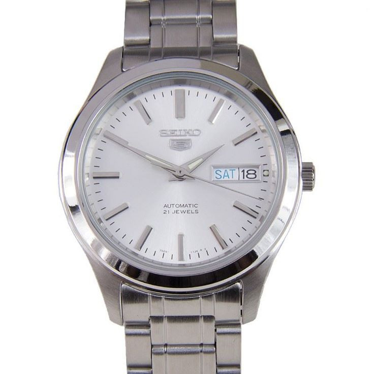 seiko 5 mens automatic 21 jewels casual snkm41k1