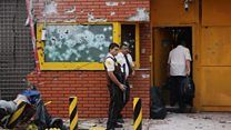 4/25/17 Huge robbery sparks gun battles in Paraguay and Brazil - BBC News