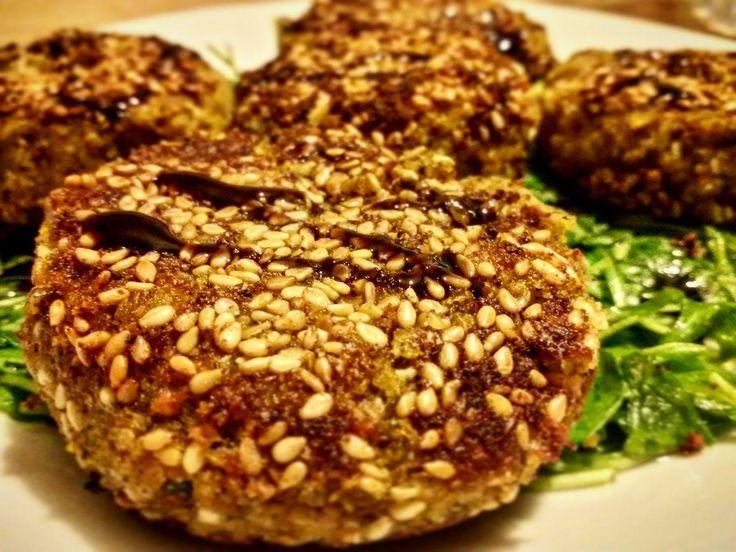 Burger Vegani di Zucca, Bieta e Mandorle