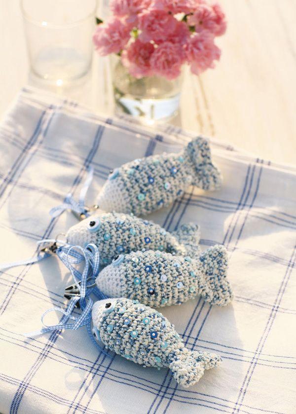 Blij dat ik brei knitted fish pattern