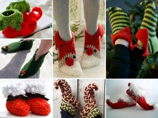 Free Crochet Christmas Slippers You'll Love These Ideas