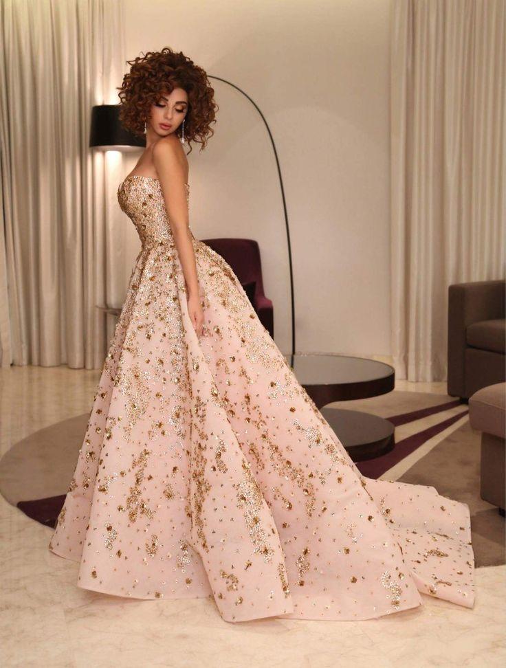 Myriam Fares in Rami Kadi Gown