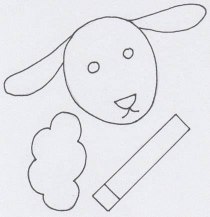 Ovečka z papírové dečky: