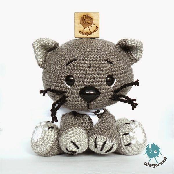 Aleksandra Goryniak-Maziarka alegorma! kotek, szydełko www.polandhandmade.pl  #polandhandmade #zabawkarstwo #amigurumi