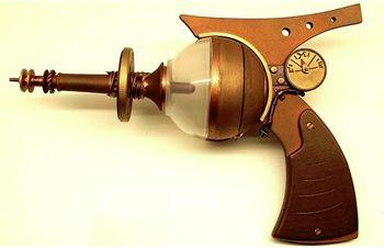 Ray-Gun pistola steampunk 350