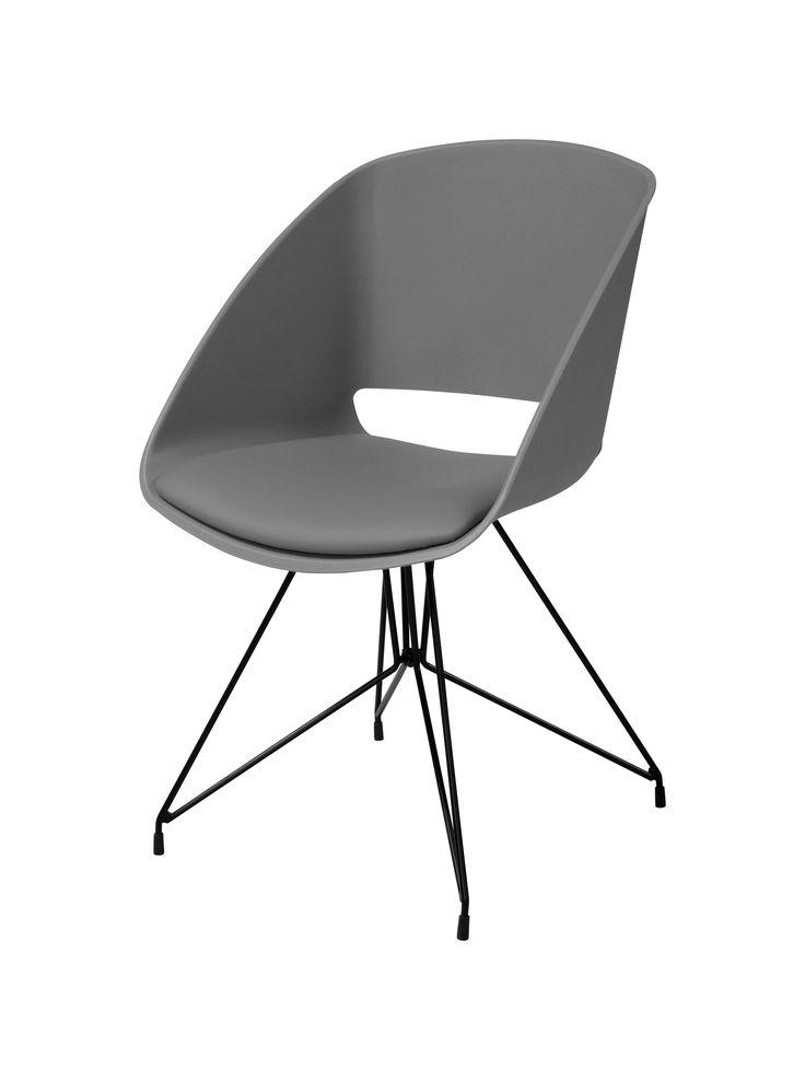 Dans un joli salon urbain, le fauteuil SIRIUS Gris trouvera sa place - BUT