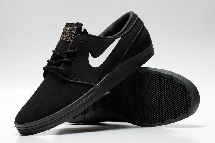 finest selection 34c5e c96a1 Nike Lunar Janoski All Black
