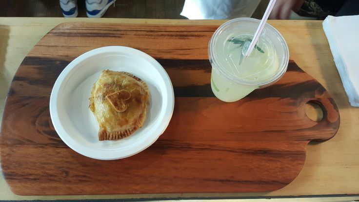 Check this out tiger wood serving board from sumac hill creations with piology pie and drink at the  thunder bay country market the pies are to die for
