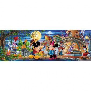 Clementoni Puzzle 1000 Pieces - Mickey & Minnie Mouse - Disney (39048)