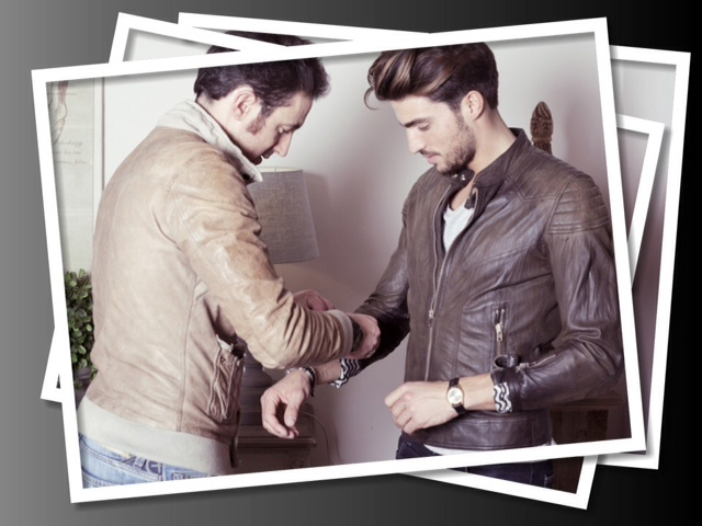 Fashion suggestions to Mariano Di Vaio, the greatest italian fashion blogger. Sword jacket for him! www.sword6644.it