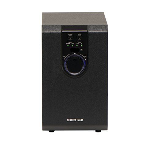 Sharper Image 5.1 Home Theater System With Subwoofer, Sound Bar & Satellite Speakers, Home Theater in a Box Surround Sound System (Worry-Free 12-Month Warranty Included)