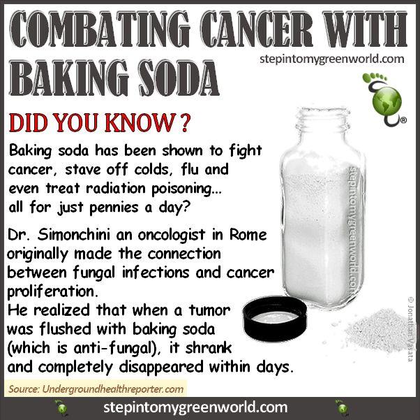 <3 baking soda and cancer