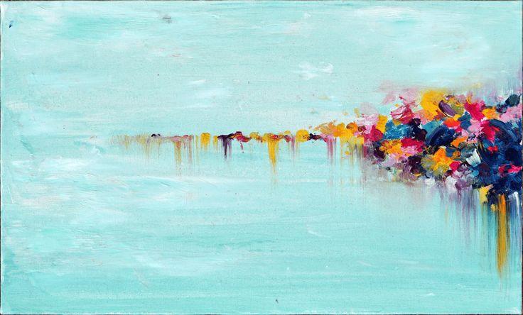 """Картина маслом """"SPARKS"""" - Галерея изобразительного и декоративного искусства"""