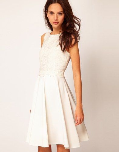 Vestido de novia para boda civil: Asos