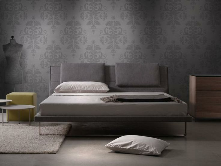 Envy bed with pillows by Trica Canada