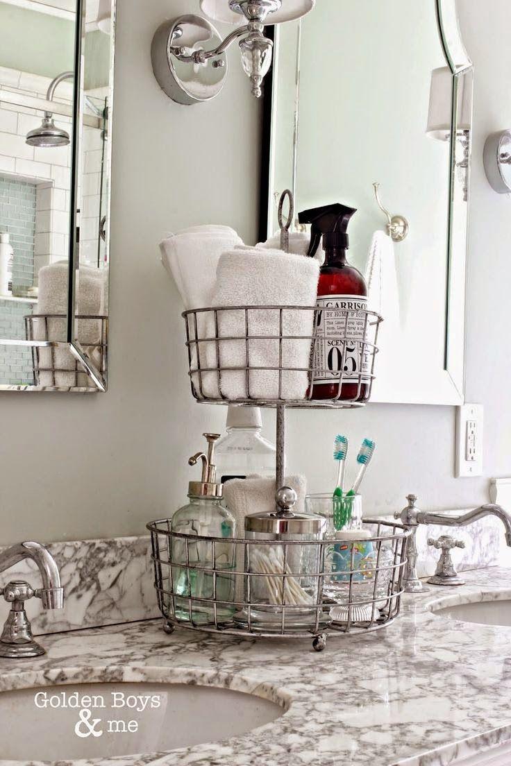 Idées et astuces pour bien ranger sa salle de bains   La minute déco