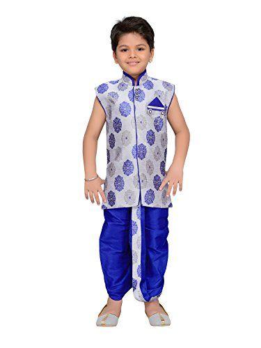 653a82fcf1 AJ Dezines Kids Indian Wear Bollywood Style Kurta Dhoti Set for Baby Boys