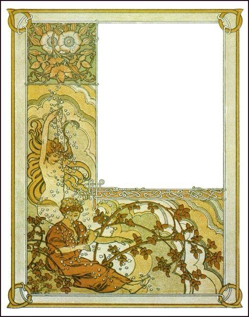❤ - Alphonse Mucha   Ilsée, Princesse de Tripoli (1897) - Illustrations III.