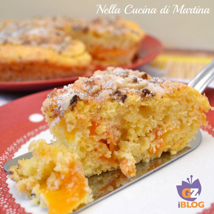 Torta di albicocche - Apricot cake