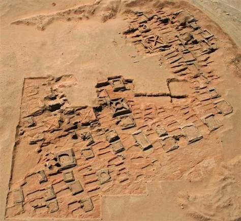 Cluster of 35 ancient pyramids unearthed in Sudan  Jam-packed 2,000-year-old necropolis may have been influenced by Egyptian rituals