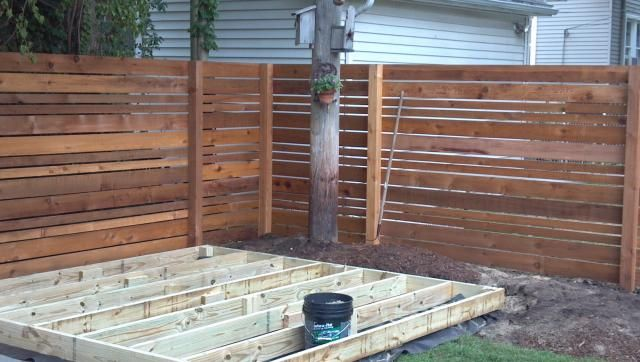 Horizontal Fence Designs Yahoo Search Results The
