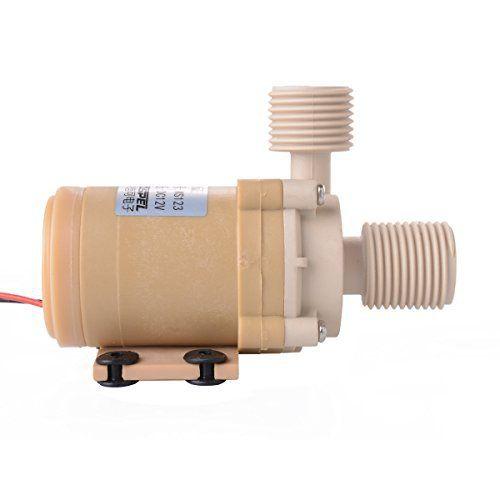 XCSOURCE® Solaire DC 12V Eau Chaude Pompe de Circulation Moteur Pompe à eau Brushless 3M Nouveau TE087: Description: La pompe est idéale…