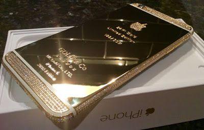 myneblogelectronicslcdphoneplaystatyon: Apple iPhone 6 - 128GB - 24K Mirror Gold/White Pla...