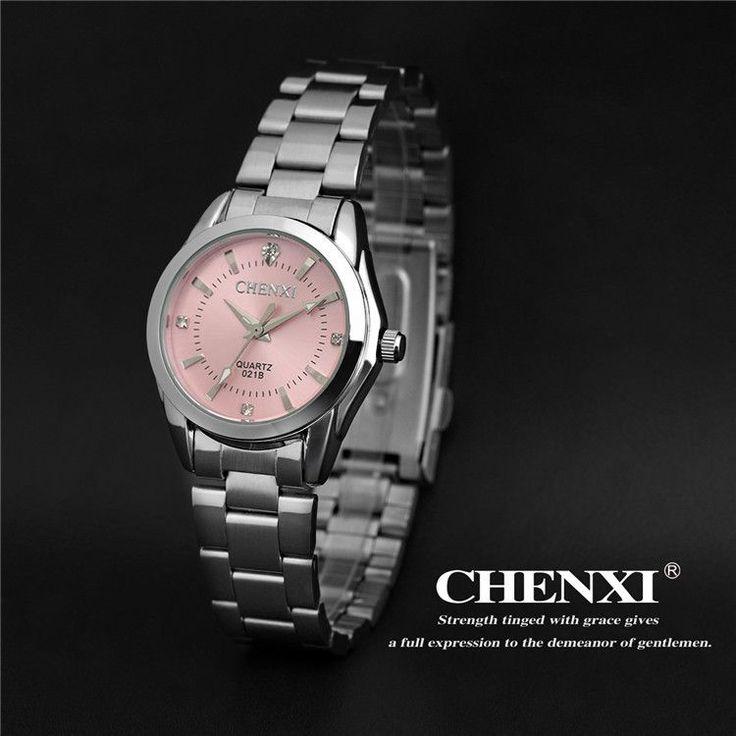 5 Fashion colors CHENXI CX021B Brand relogio Luxury Women's Casual watches waterproof watch women fashion Dress Rhinestone watch