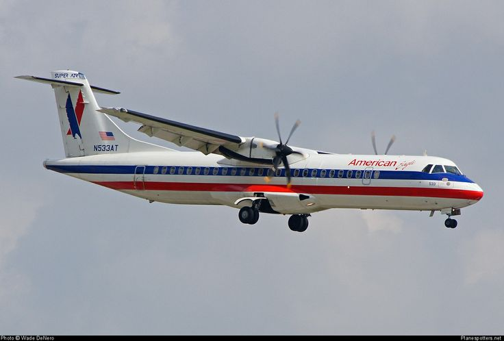 American Eagle Airlines | N533AT Executive Airlines (American Eagle) ATR 72-500 (72-212A) taken ...