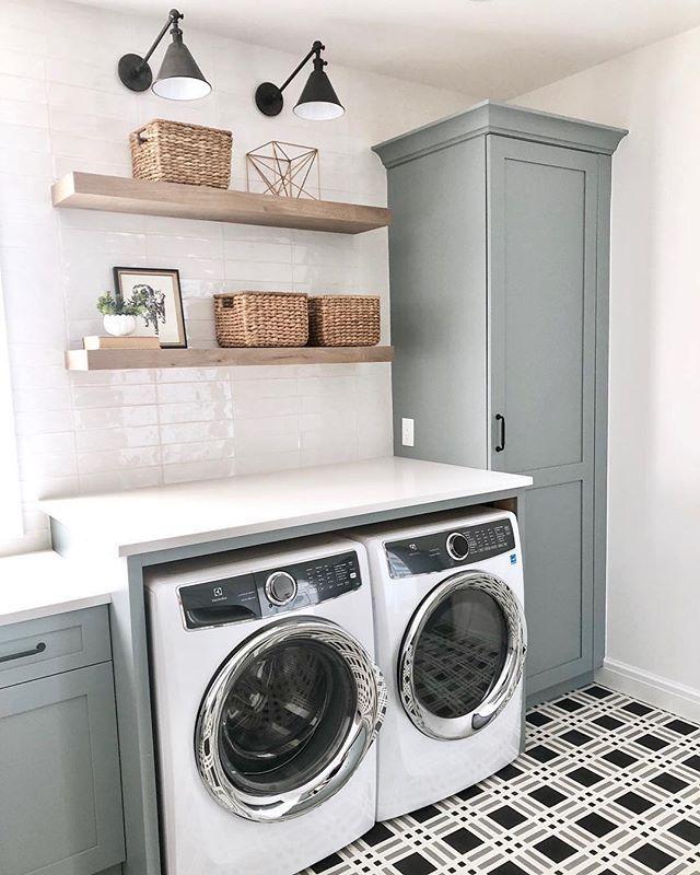 Beautiful Laundry Rooms Always Make Us Feel A Little Bit Jealous