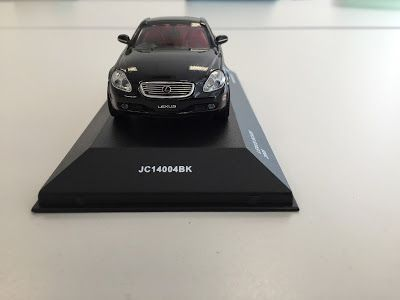 日本自動車デザインコーナー 「Japanese Car Design Corner」: Lexus SC 430 model by Kyosho