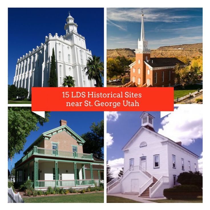 Mormon Historical Sites Cedar City Utah