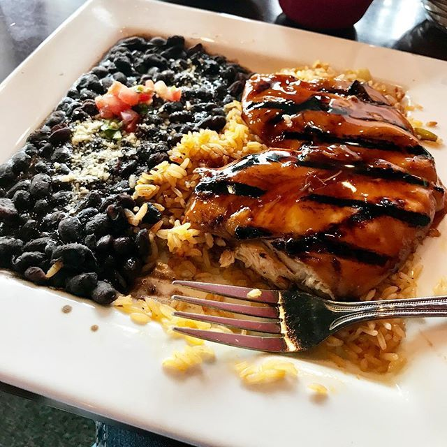 Teriyaki chicken at #Garcias in #Glasgow #kentucky So good! #food #delicious  Visit and subscribe to NanaHood.com