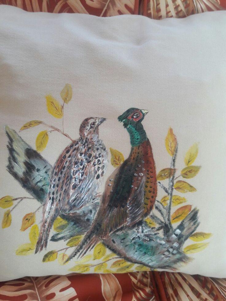 kumaş boyası kuşlar 40tl