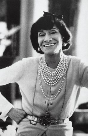 Coco Chanel...my hero and my inspiration