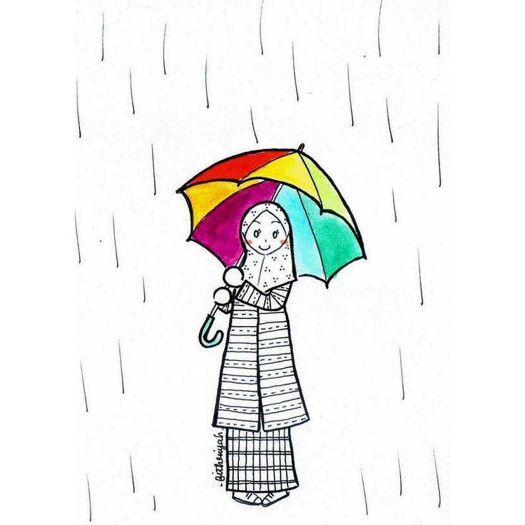 Bismillaahirrahmaanirrahiim Assalamu'alaykum Warahmatullahi Wabarakatuh  biarkan hujan larutkan gelisah biarkan hujan hilangkan marah biarkan hujan hapuskan gulana gundah biarkan hujan jauhkan resah biarkan hujan sembuhkan lelah biarkan hujan samarkan airmata yang tercurah  karena jengah akan rasa yang salah biarkan hujan menjadi saksi akan bungkamnya lidah  akan hati yang mencoba tabah pada ranah yang telah resah tak berkesudah  dan sekarang biarkan hujan beri kesadaran bahwa diri hanyalah…