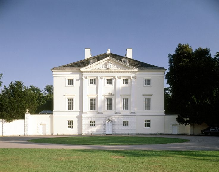 Marble Hill House, Middlesex, built between 1724 and 1729 for Henrietta Howard, mistress of George II. (English Heritage)