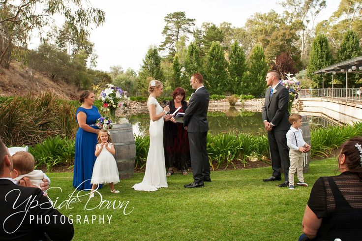 Gatehouse ceremony. #GlenEwinEstate #Weddings #bridal #adelaidehills #photos #Gatehouse #weddingvenue #ceremonies