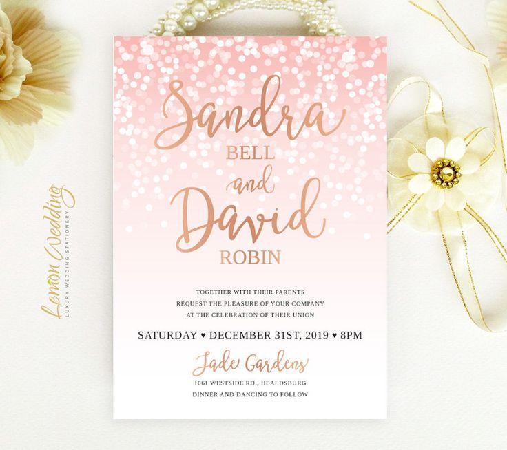 159 best Wedding Invitations images on Pinterest | Engagement ...