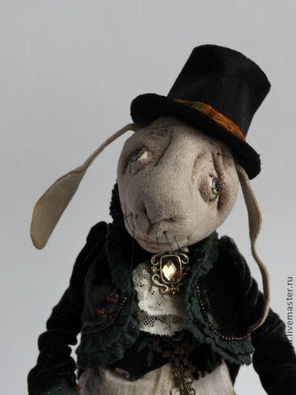Кролик из Страны чудес - кролик,авторская кукла,ручная работа,алиса в стране чудес