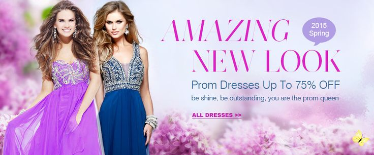 Amazing New Look Prom Dresses Up To 75% Off
