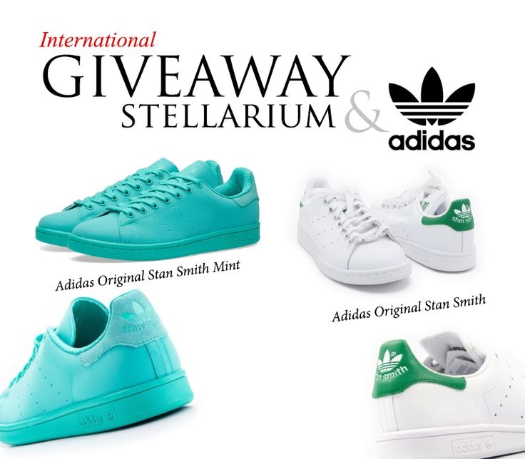 2 pairs of Adidas Shoes Worldwide Giveaway - Stellarium is giving away two  fancy pairs of