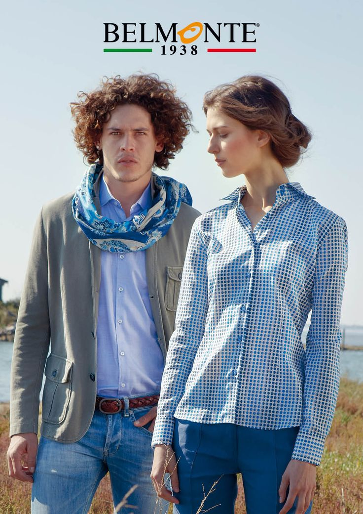Proposte Belmonte per l'uomo e la donna per le giornate di sole. Belmonte men's and women's outfits ideal for sunny days. #belmonte1938