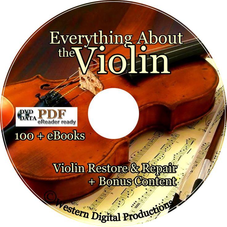 Western Digital Productions - Violin Repair Manuals