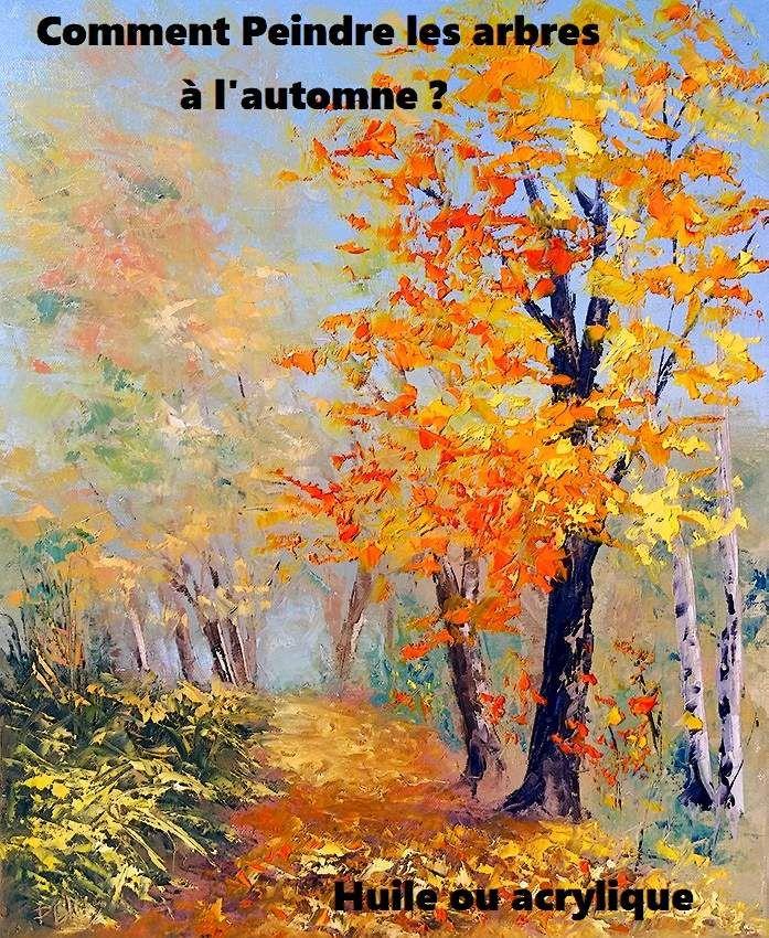 Dessin Et Peinture Video 2644 Comment Peindre Les Arbres En