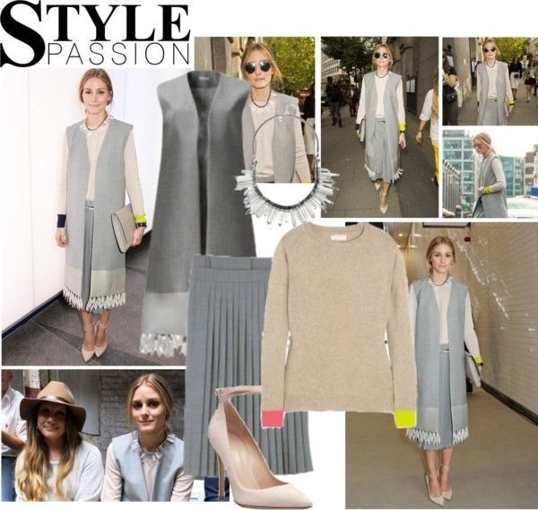 """""""2014 London Fashion Week: Whistles S/S 2015 Presentation~ Olivia Palermo"""" by snugget9530 ❤ liked on Polyvore"""